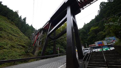 「御岳駅(ケーブル下行き)」 西東京バス 路線バ …