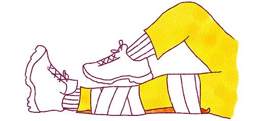 ヒザの骨折や脱臼時の固定方法