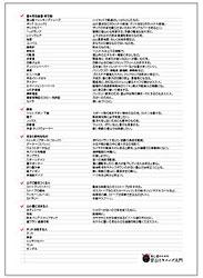 登山用品(装備)と持ち物リスト